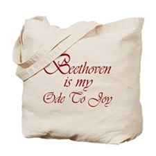 Beethoven Ode To Joy Tote Bag