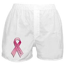 Survivor Pink Ribbon Boxer Shorts