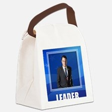 Leader. This is What One Looks Li Canvas Lunch Bag