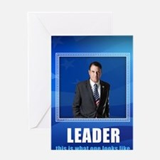 Leader. This is What One Looks Like. Greeting Card
