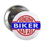 Genuine Biker BadAss Button