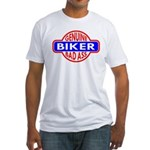 Genuine Biker BadAss Fitted T-Shirt