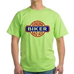 Genuine Biker BadAss Green T-Shirt