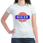 Genuine Biker BadAss Jr. Ringer T-Shirt