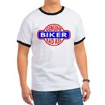 Genuine Biker BadAss Ringer T