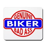 Genuine Biker BadAss Mousepad