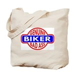 Genuine Biker BadAss Tote Bag