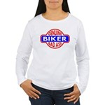 Genuine Biker BadAss Women's Long Sleeve T-Shirt