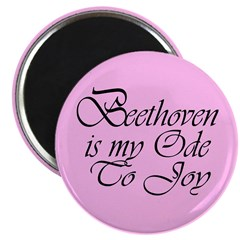 Beethoven Ode To Joy Magnet