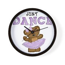 Just Dance Ballet Shirts Wall Clock