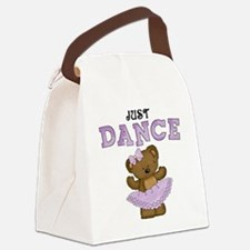 Just Dance Ballet Shirts Canvas Lunch Bag