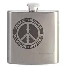 Peace thru Sup Firepower Flask