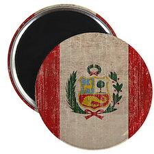 Vintage Peru Magnet