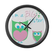 New Big Sister Large Wall Clock