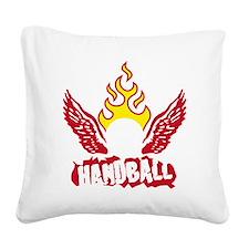 handball Square Canvas Pillow