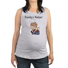 Daddys Helper BBQ Maternity Tank Top
