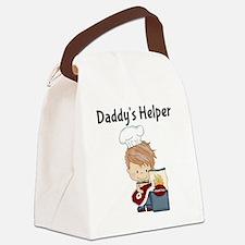 Daddys Helper BBQ Canvas Lunch Bag