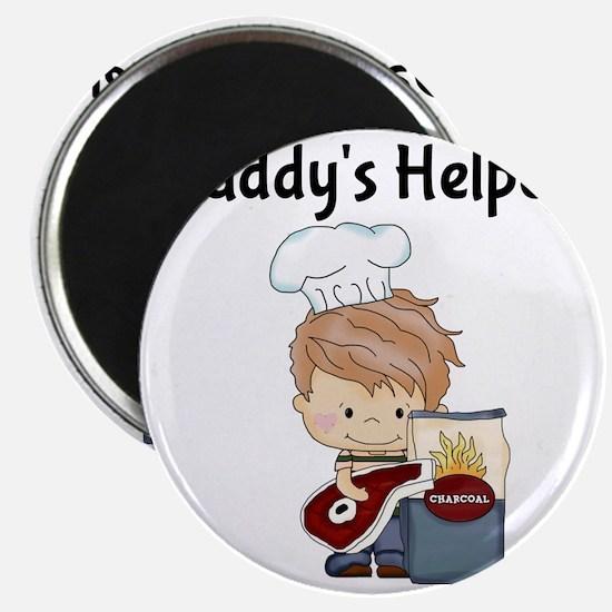 Daddys Helper BBQ Magnet