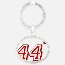 Obama 44 Oval Keychain