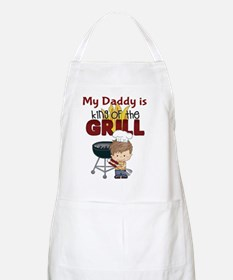 My Daddy is King of the Grill Apron