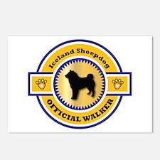 Sheepdog Walker Postcards (Package of 8)