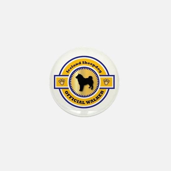 Sheepdog Walker Mini Button