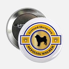 """Sheepdog Walker 2.25"""" Button (10 pack)"""