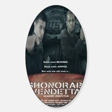 DV Final Poster Sticker (Oval)