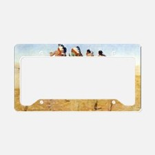 The Pioneers, 1904 License Plate Holder
