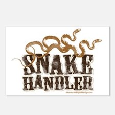 Snake Handler Postcards (Package of 8)