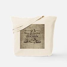 Vintage Tucson Tote Bag