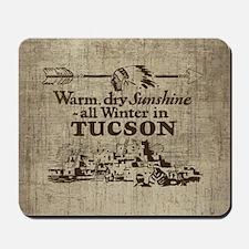 Vintage Tucson Mousepad