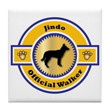 Jindo Walker Tile Coaster