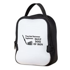 Golf Cap3.Png Neoprene Lunch Bag