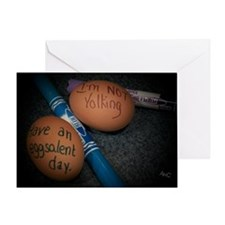 Have an Eggsalent Day Greeting Card