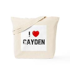 I * Cayden Tote Bag