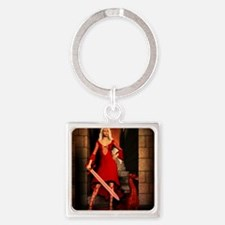 The Bloody Mage Square Keychain