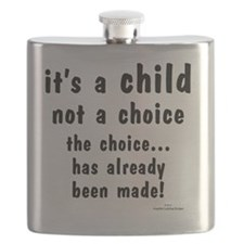 Child not a Choice Flask