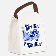 Just Grilling and Chilling Canvas Lunch Bag
