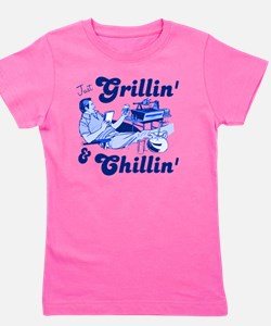 Just Grilling and Chilling Girl's Tee