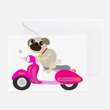 Vespug! Greeting Card