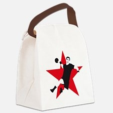 handball player star Canvas Lunch Bag