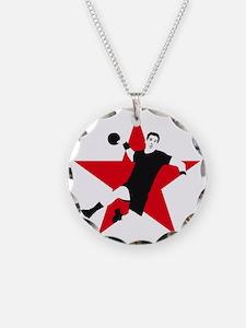 handball player star Necklace