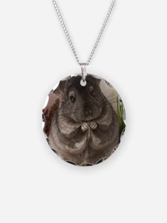 lovely chinchilla Necklace