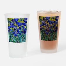Btn VG Irises 89 Drinking Glass