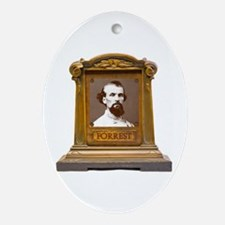 Nathan B. Forrest Antique Memorial Ornament (Oval)