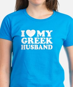 I love My Greek Husband Tee