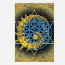 Divine Awakening Card Postcards (Package of 8)