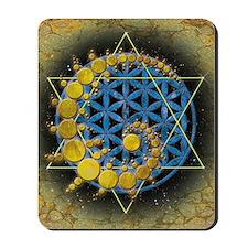 Divine Awakening Card Mousepad