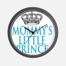 Mommys Little Prince Wall Clock